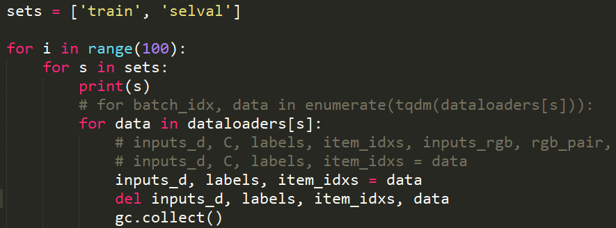 Data loaders, memory issues and circular references
