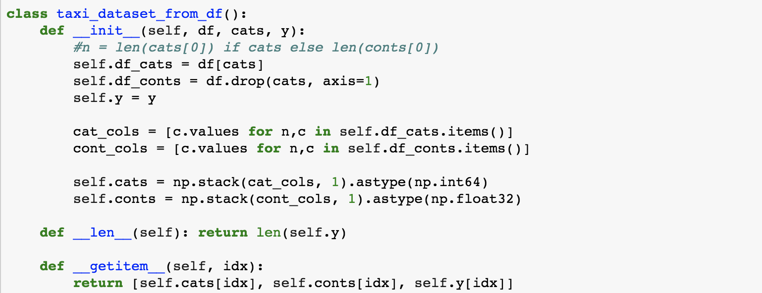 Data loader for columnar data - PyTorch Forums