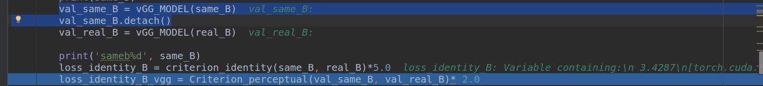 AssertionError: nn criterions don't compute the gradient w r t