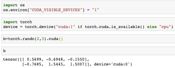 Why  cuda() always allocate GPU:0? - PyTorch Forums