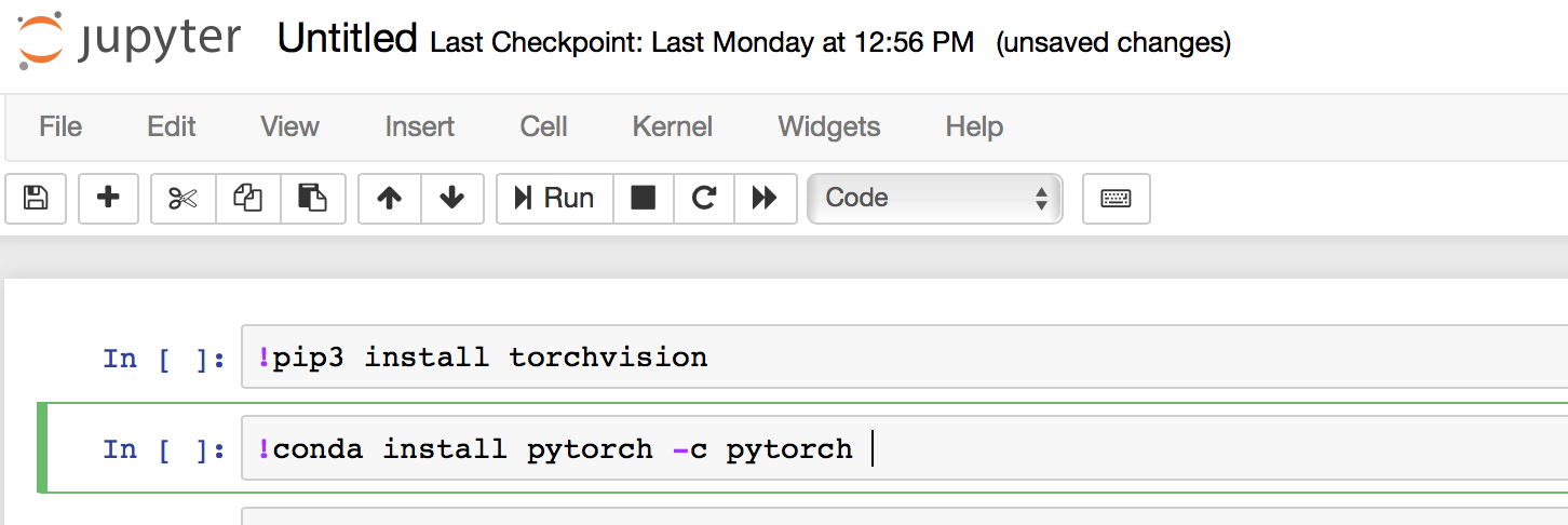 oduleNotFoundError: No module named 'torchvision' - PyTorch
