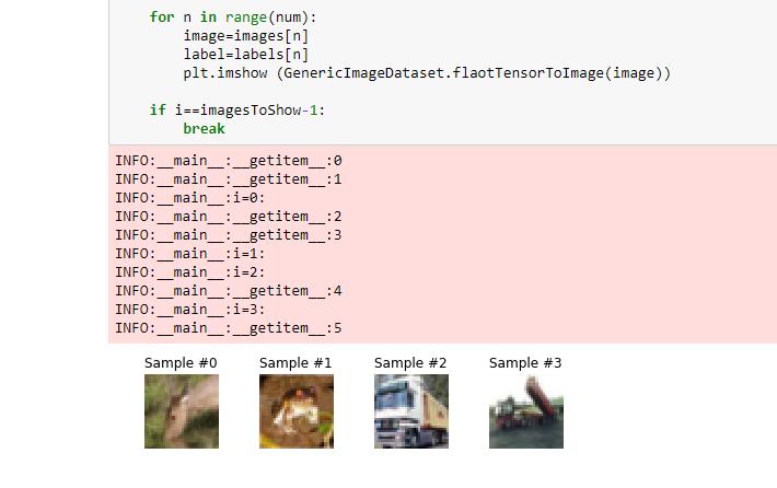 Custom data loader and label encoding with CIFAR-10
