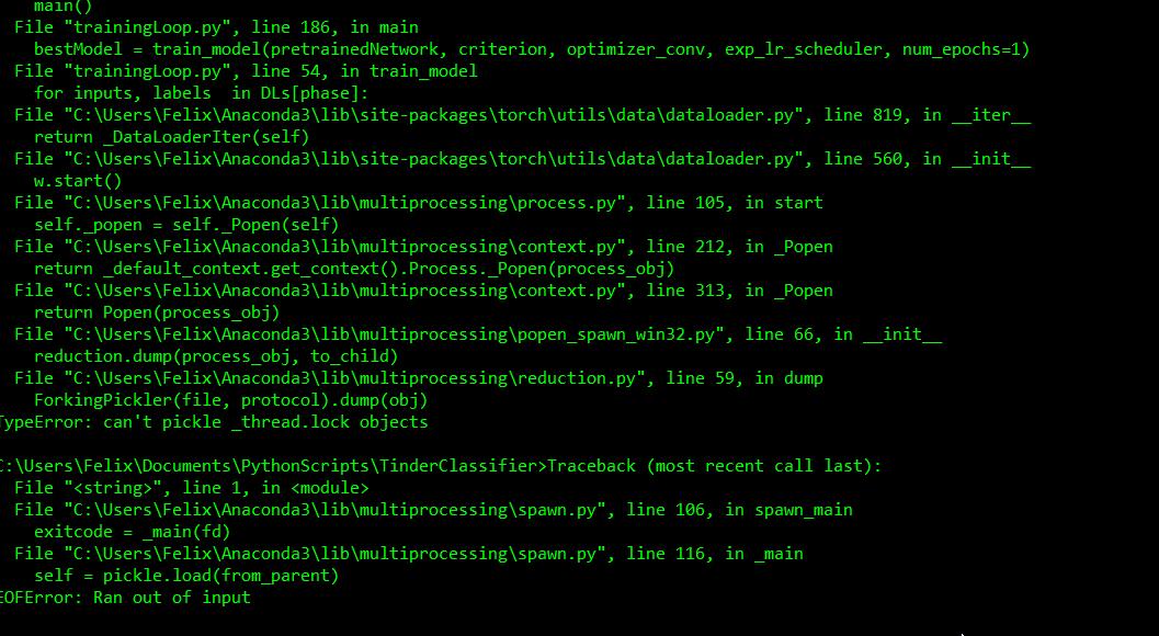 Dataloader crashing with custom dataset - PyTorch Forums